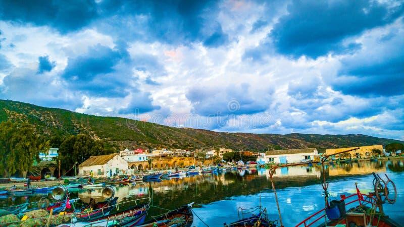 Tunezja natury ØŒ tourisme i skutki zdjęcia royalty free