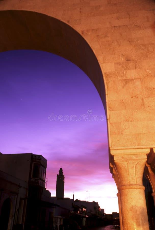 tunezyjczyk wschodu słońca obraz royalty free