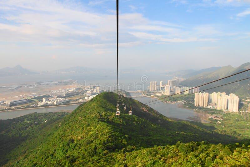 Tung Chung fjärd av Hong Kong royaltyfria bilder