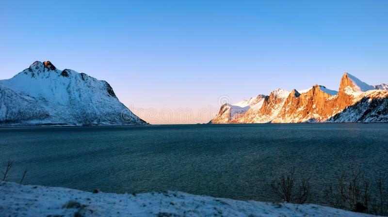 Tungeneset塞尼亚岛挪威 库存照片