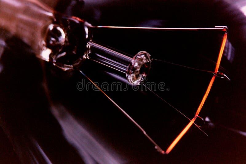 Tungstênio, ampola foto de stock
