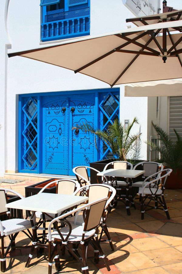 Download Tunis Cafe stock photo. Image of lattice, closed, front - 6863260