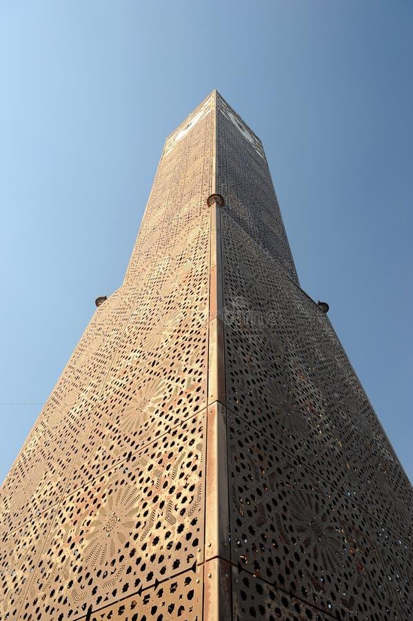 Tunis clock tower royalty free stock photos