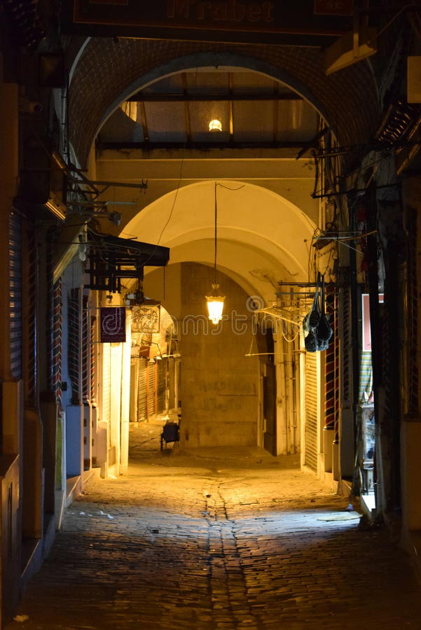 Tunis oldtown medina royalty free stock photos