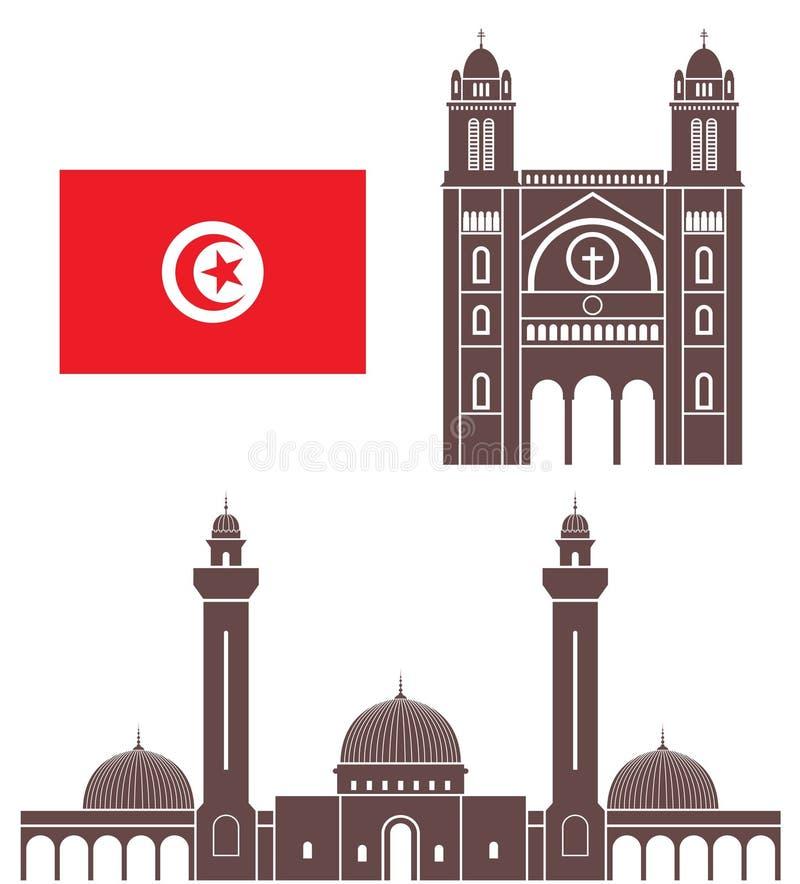 tunisia royalty illustrazione gratis