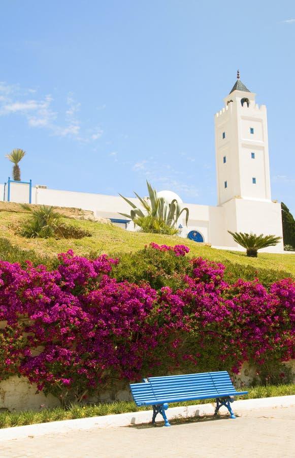 Tunisia Africa Sidi Bou Said mosque