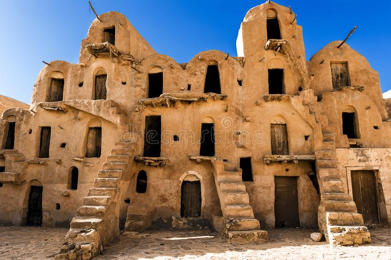 Tunisia.  Ksar Ouled Soltane stock images