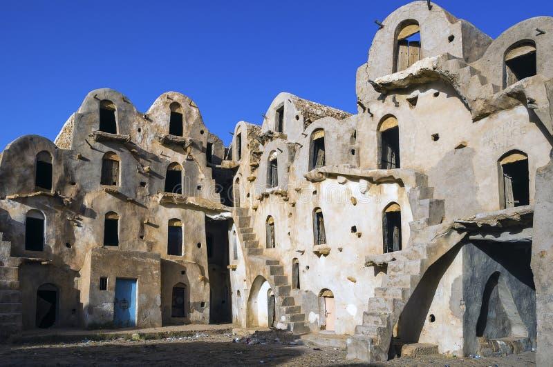 tunisia Ksar Ouled Soltane photographie stock