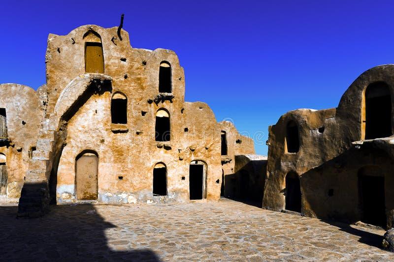 tunisia Ksar Ouled Soltane image stock