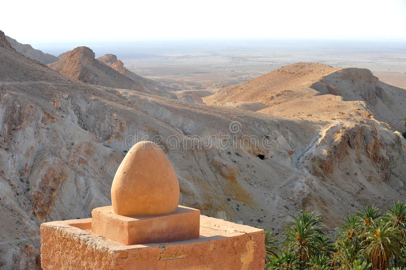 Tunisia- Oasis Chebika royalty free stock photo
