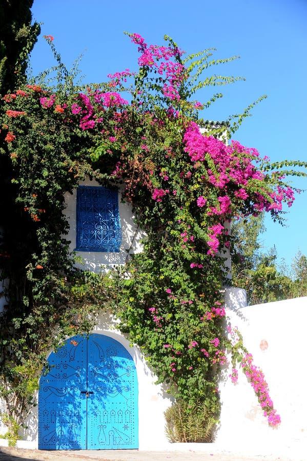 Tunisia. Sidi Bou Said stock images