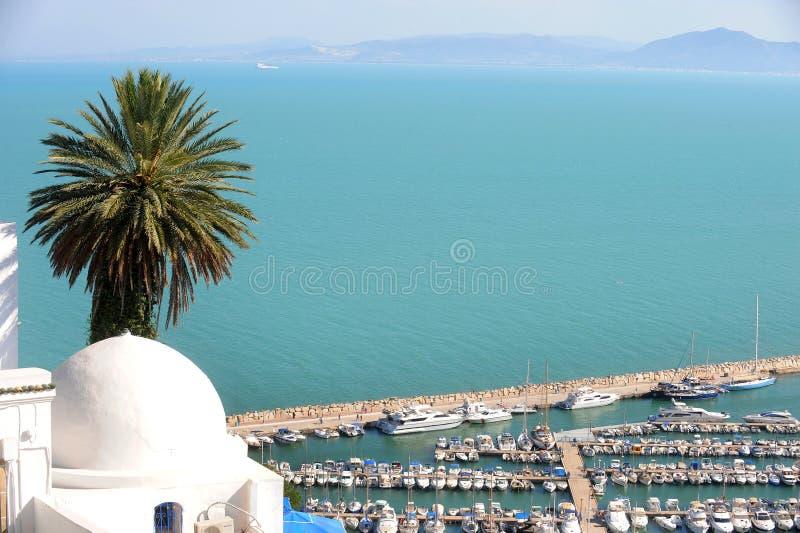 Tunisia. Sidi Bou Said stock photography