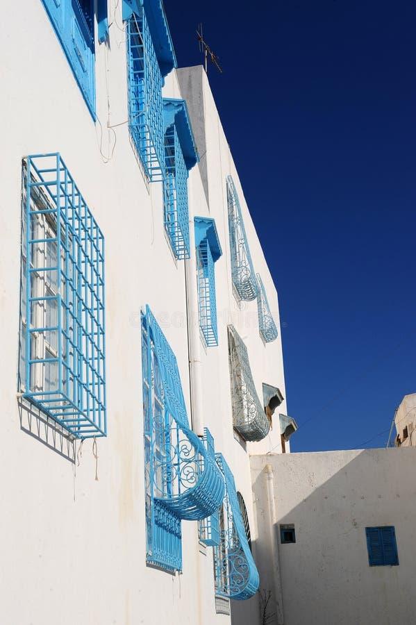 Tunisia. Sidi Bou Said royalty free stock images