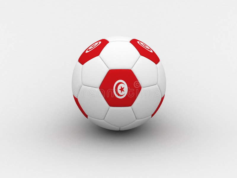 Download Tunisia Soccer Ball Royalty Free Stock Photography - Image: 741337