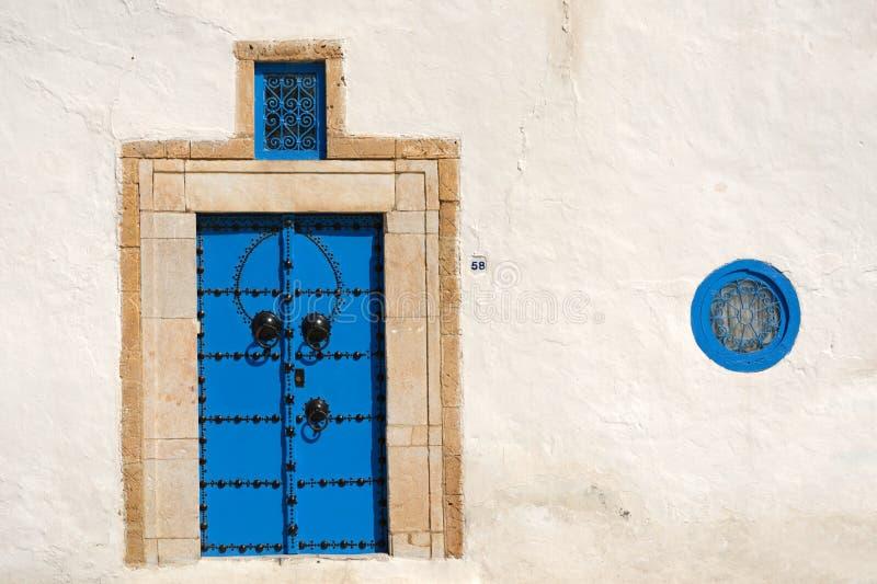 Tunisian architecture stock photography