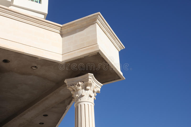 Tunisian modern architecture stock images