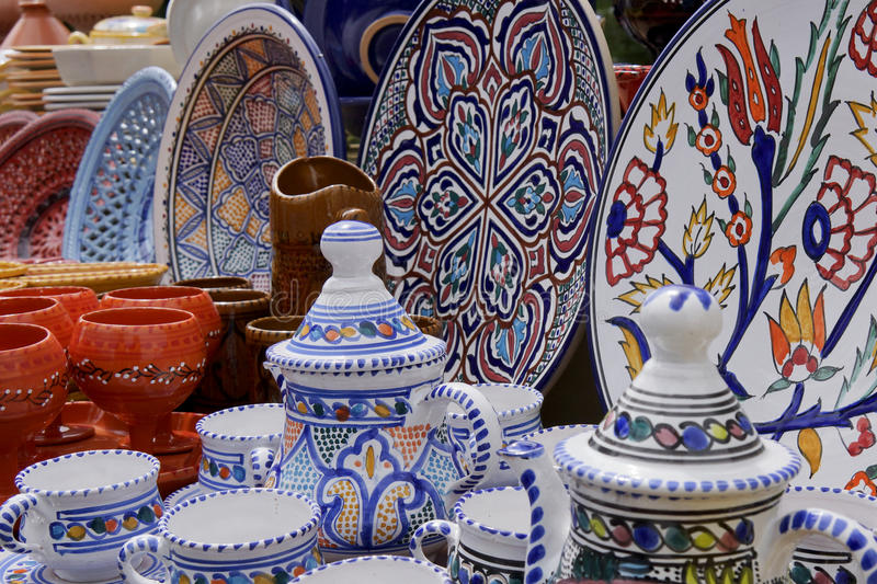 Download Tunisian pottery stock photo. Image of ceramics tunisia - 29590432 & Tunisian pottery stock photo. Image of ceramics tunisia - 29590432