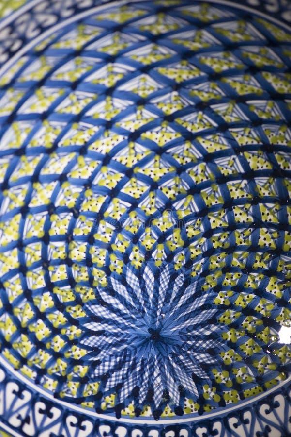 Tunisian pottery royalty free stock photography