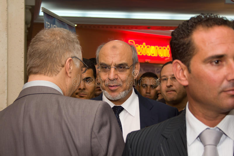 Download Tunisian Prime Minister Opening ICT4ALL Editorial Stock Image - Image: 26836749