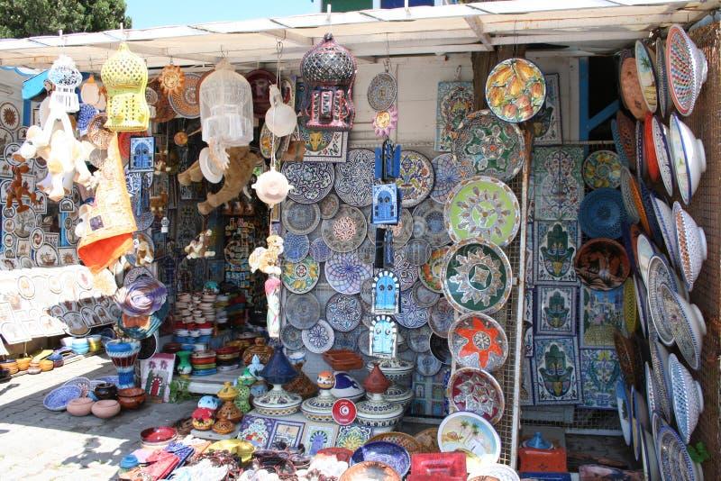 tunisian souvenir fotografering för bildbyråer