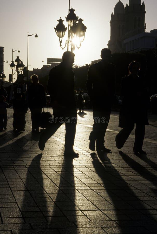Download Tunisian street stock photo. Image of avenue, architecture - 13165216