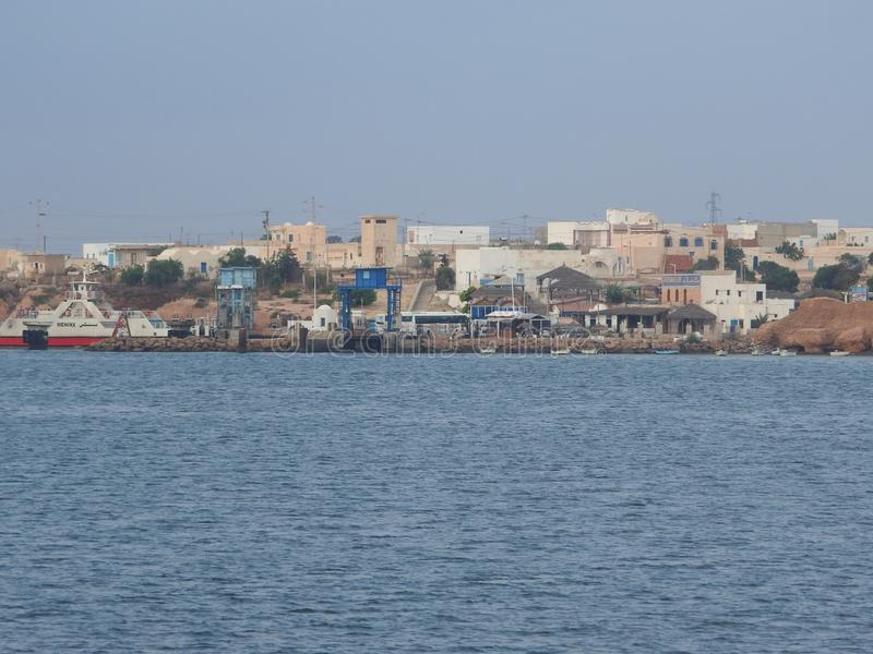 Tunisie Tunisie du ?? Ile de Джерба Houmt Souk Che Тунис Le порта de p Южный остров Туниса Джербы Houmt Souk E стоковая фотография rf