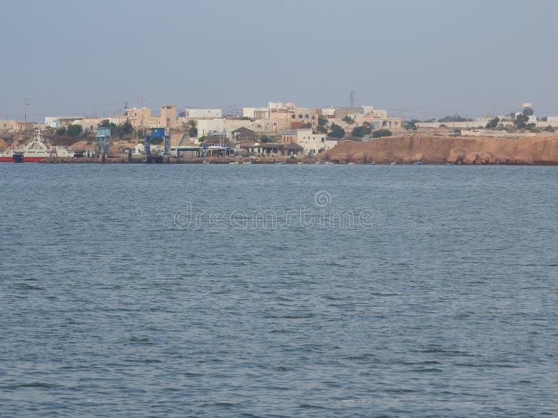 Tunisie Tunisie du Sud Ile DE Djerba Houmt Souk Le port DE p che Tunesië Eiland het Zuid- van Tunesi? Djerba Houmt Souk Visserij stock foto
