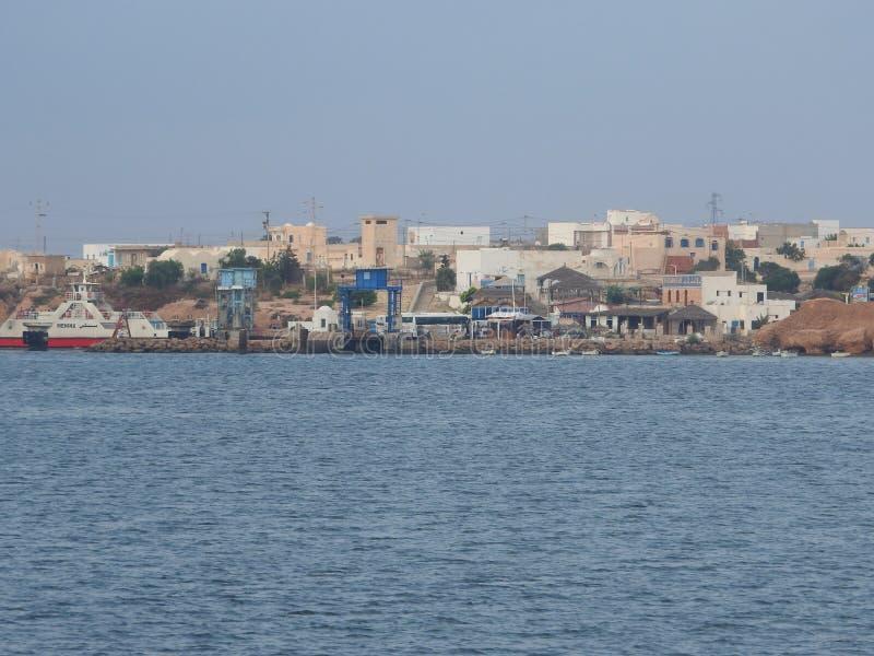 Tunisie Tunisie Du Sud Ile de Djerba Houmt Souk Le portu De P che Tunezja Po?udniowa Tunezja Djerba wyspa Houmt Souk po??w fotografia royalty free