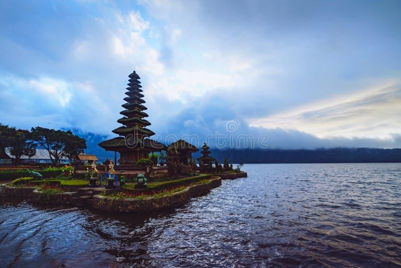 Tunjung Beji Ulun Danu Beratan Temple. Bali Indonesia stock photos