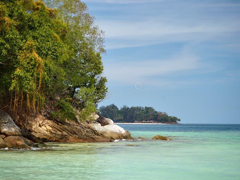 Tunku Abdul Rahman National Park, Bornéo, île de la Malaisie - du Sapi photo stock