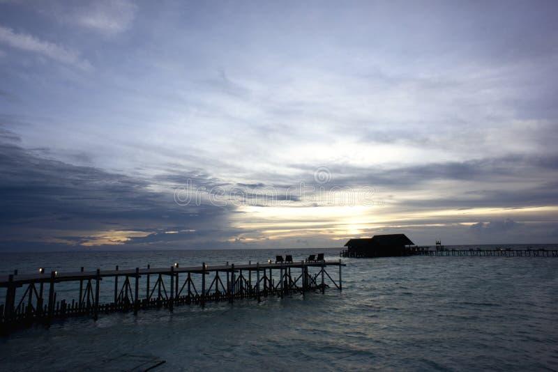 TUNKU ABDUL RAHMAN NATIONAL PARK - SABAH. The Tunku Abdul Rahman Park comprises a group of 5 islands located between 3 and 8km off Kota Kinabalu in Sabah stock photos