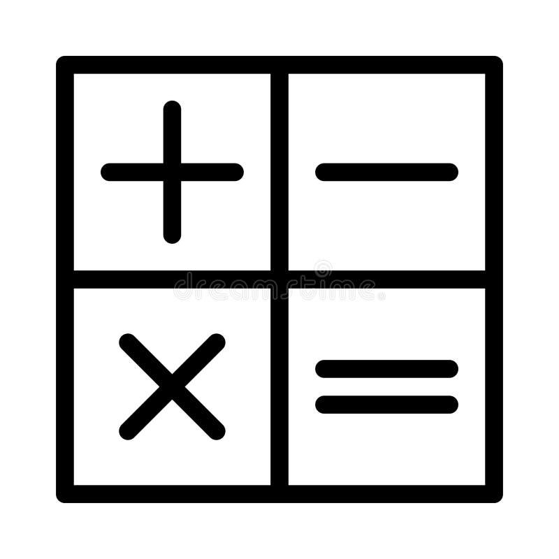 Tunn linje vektorsymbol för statistik royaltyfri illustrationer