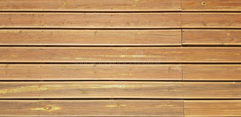 Tunna bruna träplankor textur och bakgrund fotografering för bildbyråer