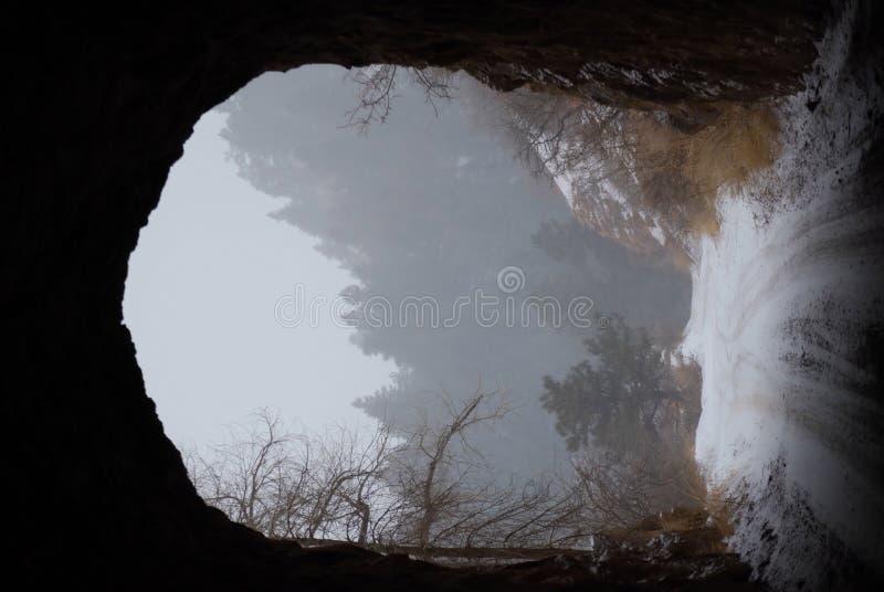 Tunnel à l'extérieur photo libre de droits