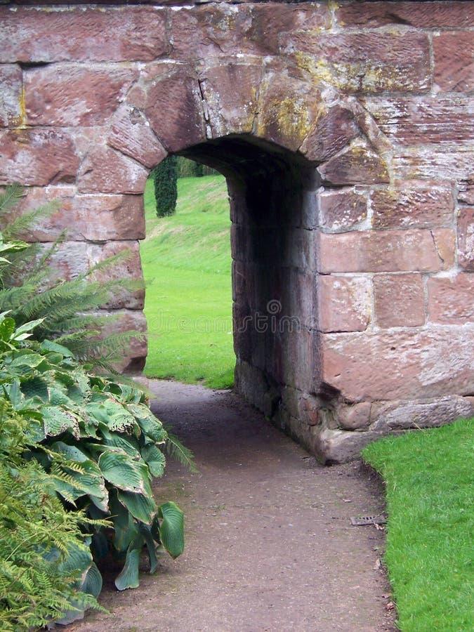 Tunnel 1 van de steen stock afbeelding