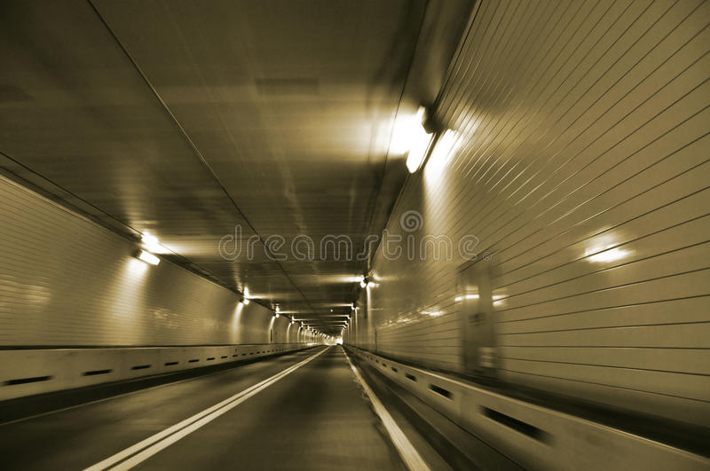 Tunnel stock foto