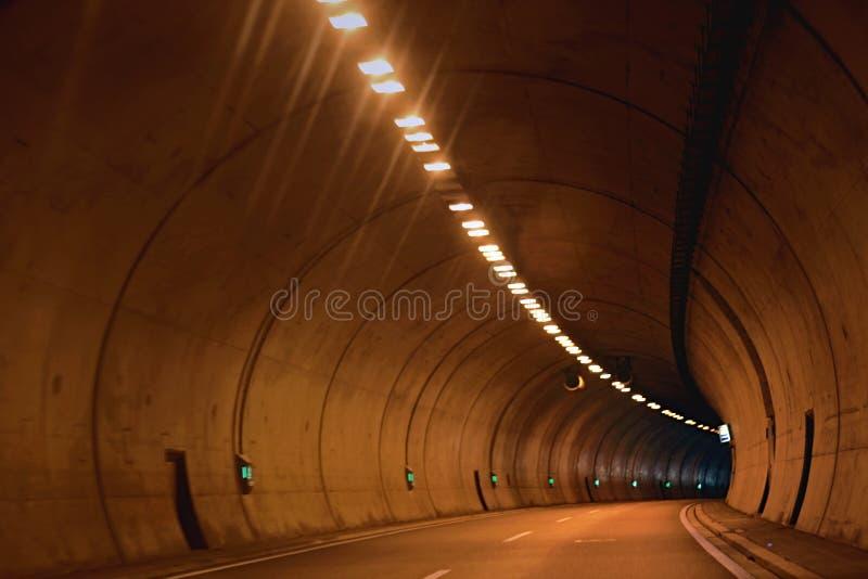 Tunnel stock afbeelding