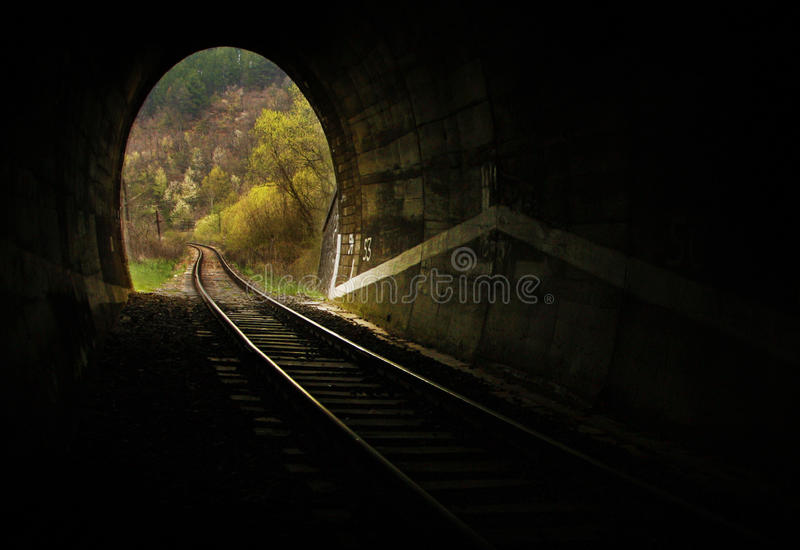 Tunnel royalty-vrije stock fotografie