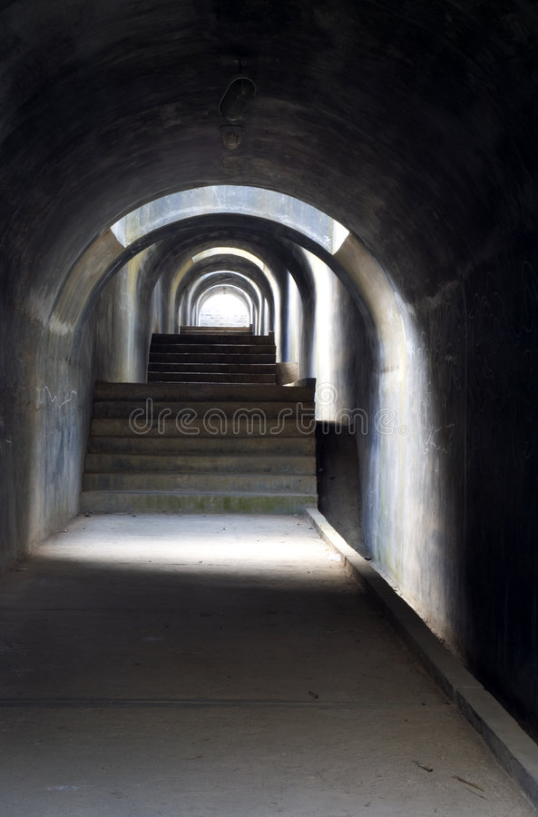 Tunnel 2 royalty free stock images