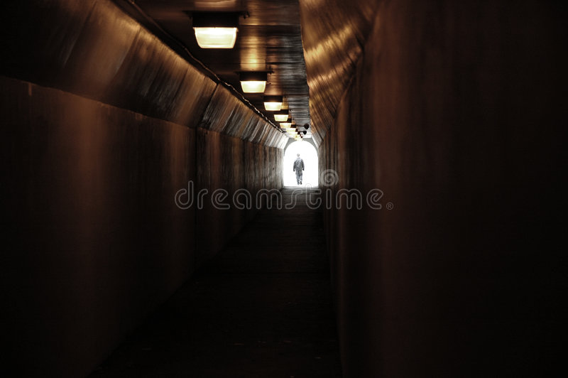 Download Tunnel stock photo. Image of subway, hope, alone, emerging - 2053430