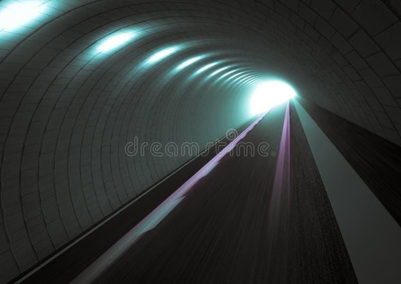 Download Tunnel stock illustration. Image of elegant, curves, moving - 23239819