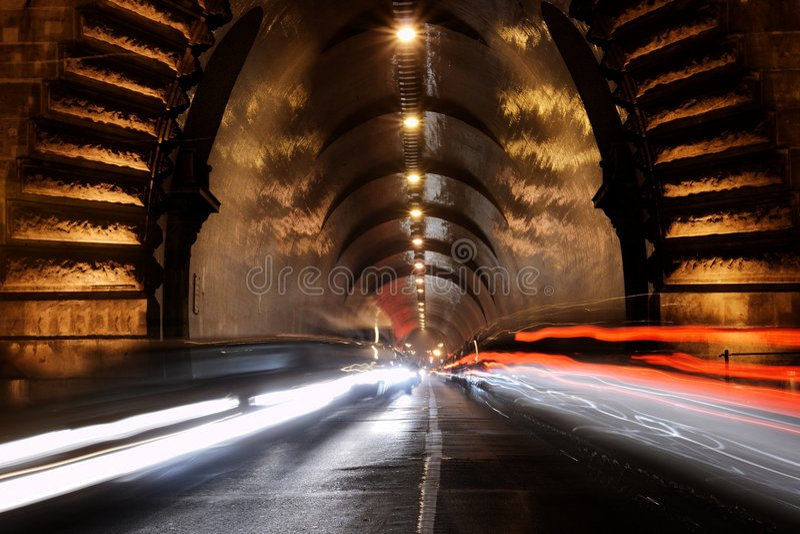 tunnel στοκ εικόνες