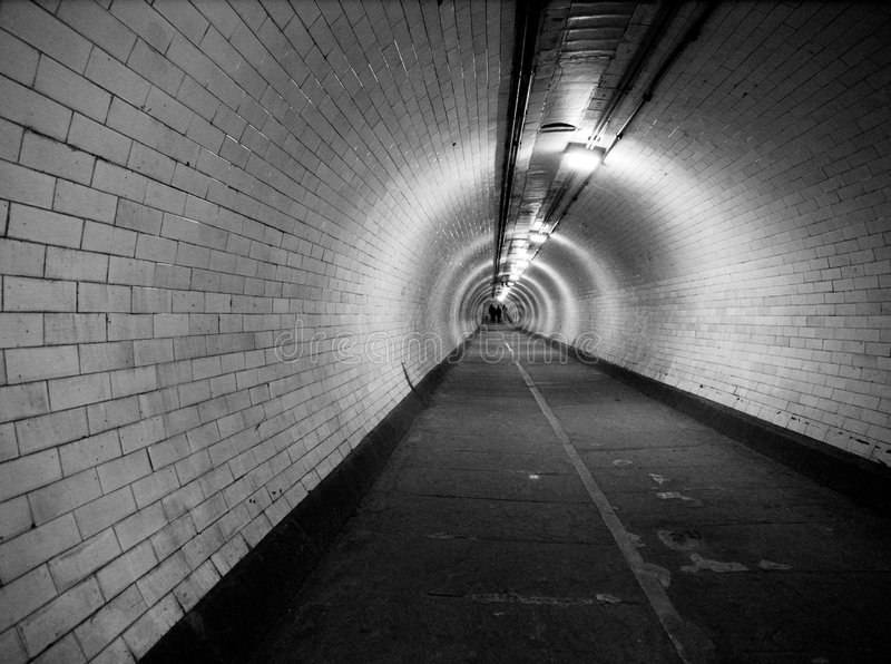Tunnel photo libre de droits