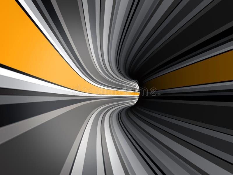 Tunnel stock illustration