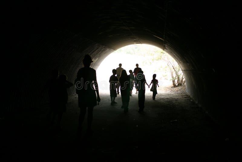 Tunnel royalty-vrije stock foto