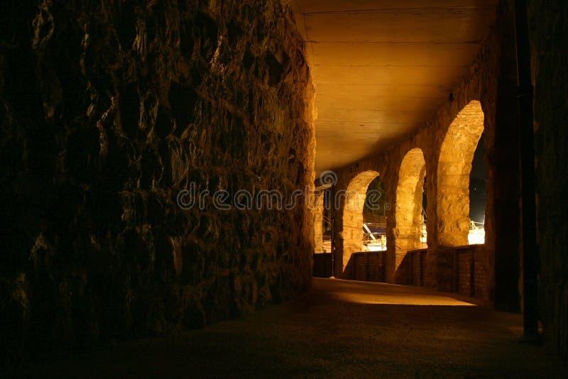 Tunnel stockfotografie