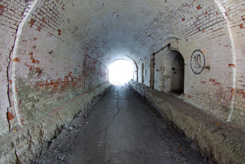 tunnel royaltyfri fotografi