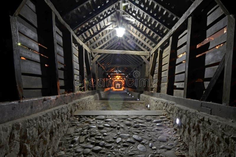 Tunnel aan hel royalty-vrije stock foto's