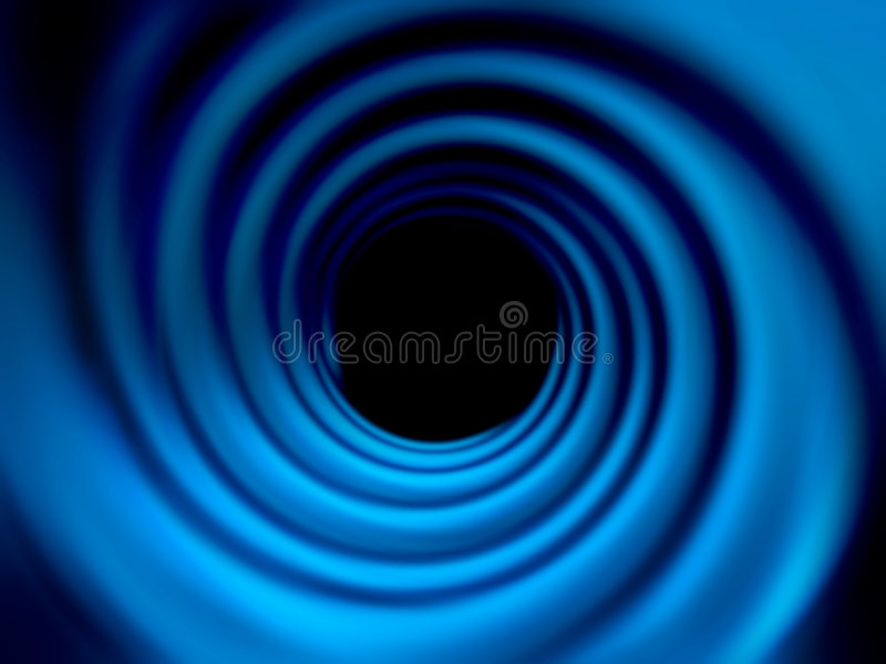 Tunnel abstrait image stock