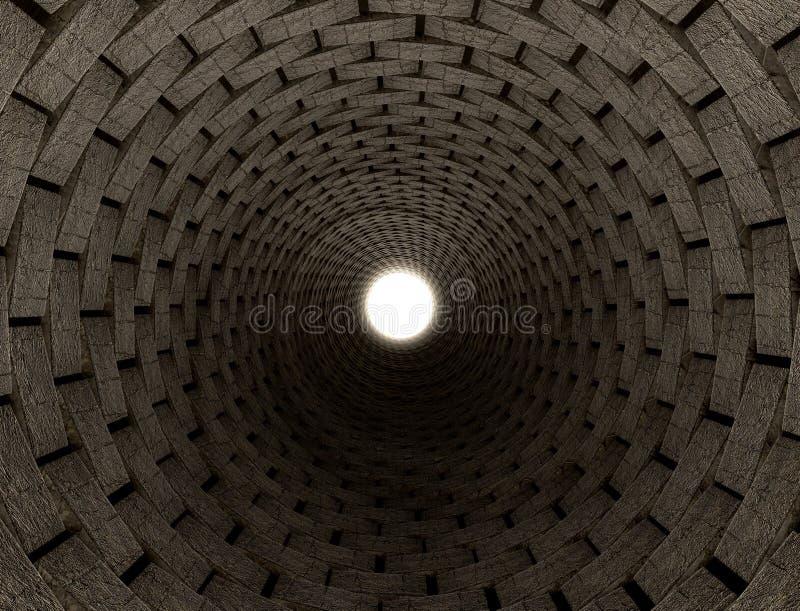 Tunnel-Anblick stockbilder